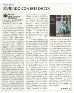crítica Justo Romero